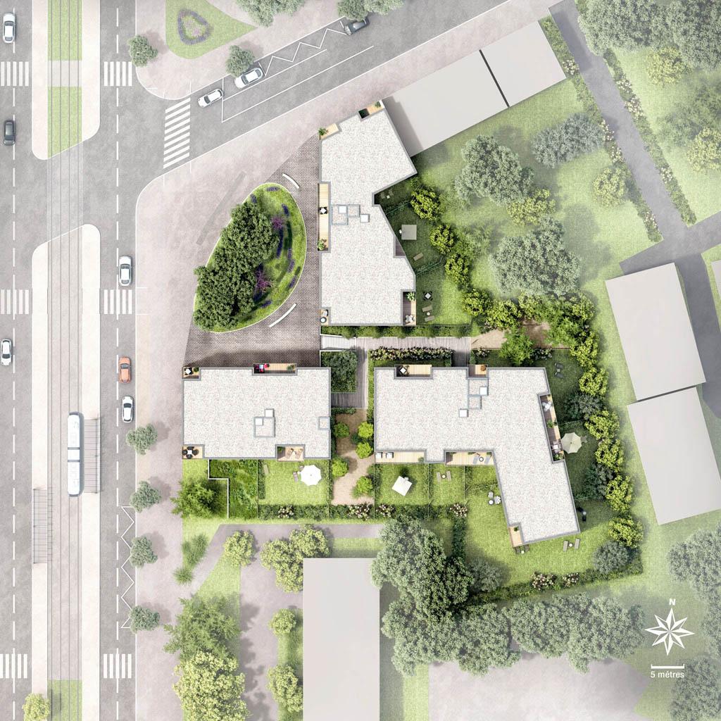 Plan de masse 3d pour l immobilier toutela3d com - Plan de masse maison individuelle ...