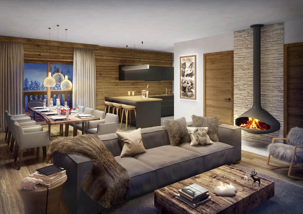 cat gorie 3d d appartements et de chalets la montagne toutela3d com. Black Bedroom Furniture Sets. Home Design Ideas
