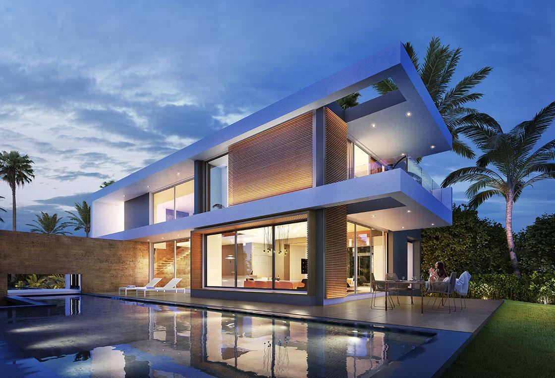 Fournisseur d 39 illustrations 3d pour l 39 immobilier toutela3d com for Villa design de luxe