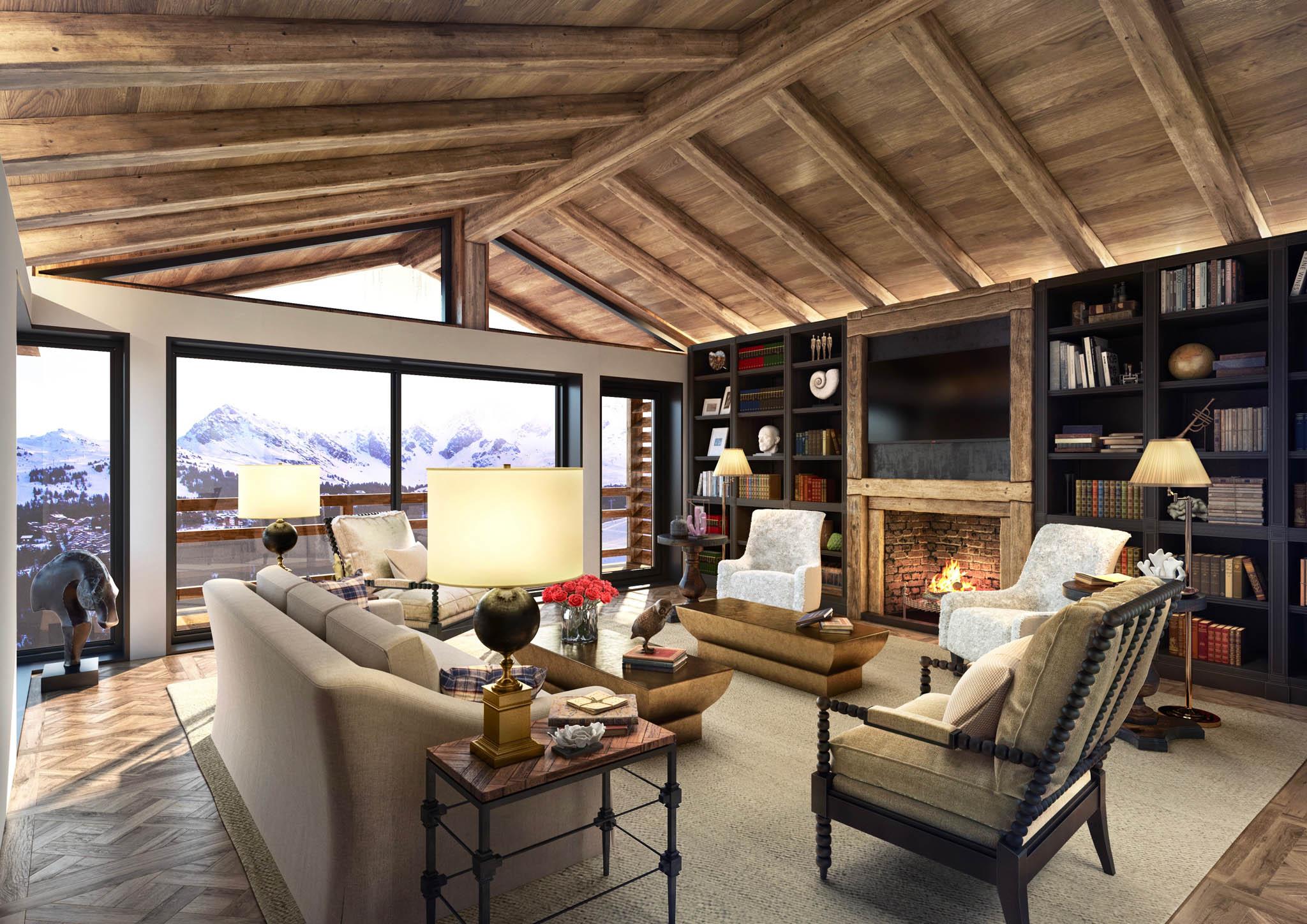 3D d\'appartements et de chalets à la montagne - TOUTELA3D.COM