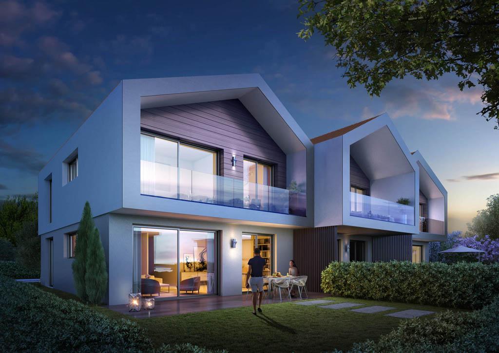 Perspectives 3d maisons individuelles toutela3d com for Maisons individuelles